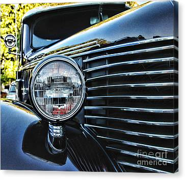 Classic Car Classic Lines Canvas Print by Paul Ward