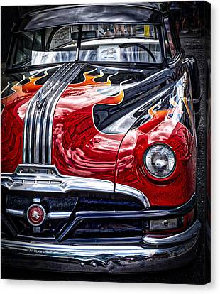 Classic Car Canvas Print by Ronald Watkins