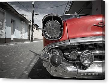 Classic Car - Trinidad - Cuba Canvas Print