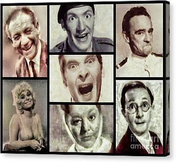 Classic Carry On Comedy Canvas Print