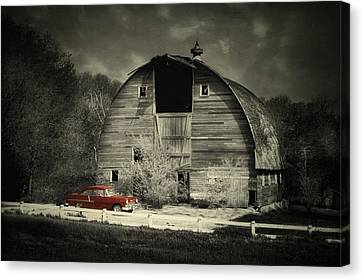 Canvas Print featuring the photograph Classic Chevrolet  by Julie Hamilton
