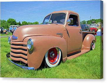 Classic Chevrolet Truck Canvas Print by Marion Johnson