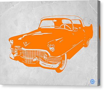 Classic Chevy Canvas Print by Naxart Studio