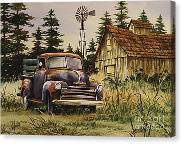 Classic Country Canvas Print by James Williamson