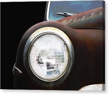Classic Dodge Car Canvas Print by Steven Michael