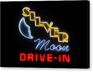 Classic Drive In Canvas Print by David Lee Thompson
