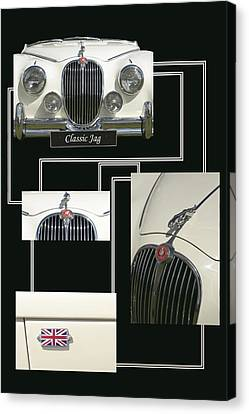 Classic Jag Canvas Print by Hazy Apple
