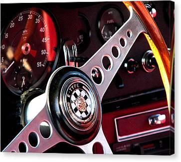 Classic Jaguar E Type 4.2 Canvas Print