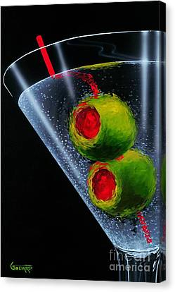 Classic Martini Canvas Print by Michael Godard