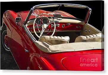 Classic Mercedes Benz 190 Sl 1960 Canvas Print by Heiko Koehrer-Wagner