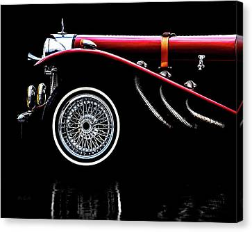 Canvas Print featuring the photograph Classic Mercedes Benz Ssk by Bob Orsillo