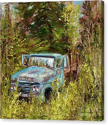 Classic Montana Landscape Canvas Print