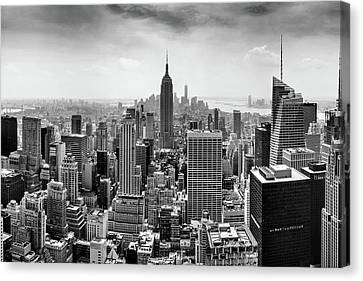 New York City Skyline Canvas Print - Classic New York  by Az Jackson