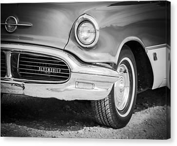 Classic Oldsmobile  Canvas Print by Debra Forand
