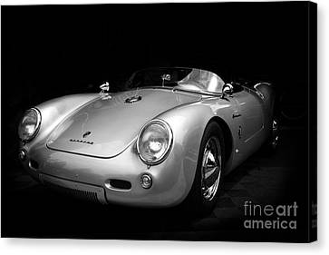 Classic Porsche Canvas Print by Perry Webster