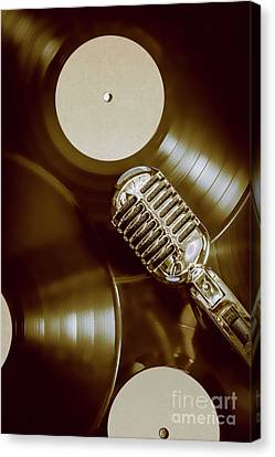 Broadcast Canvas Print - Classic Rock N Roll by Jorgo Photography - Wall Art Gallery