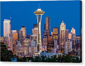 Classic Seattle Canvas Print