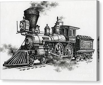 Classic Steam Canvas Print by James Williamson
