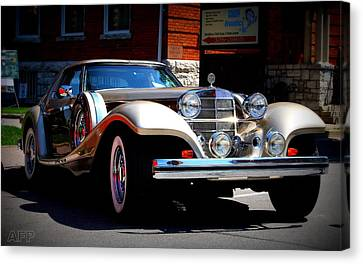 Canvas Print featuring the photograph Classic Streets by Al Fritz