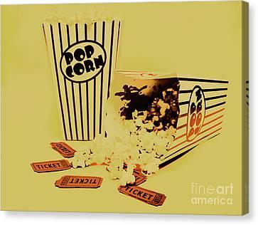 Classical Hollywood Still Life Canvas Print