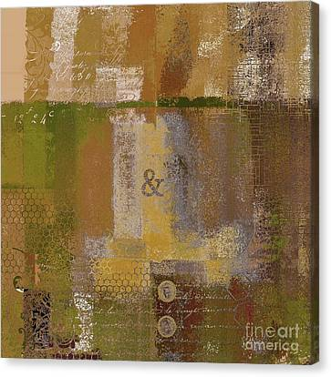 Canvas Print featuring the digital art Classico - S0309b by Variance Collections