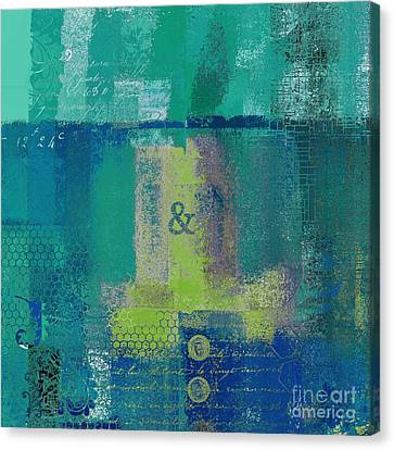 Canvas Print featuring the digital art Classico - S03c04 by Variance Collections