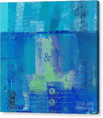 Canvas Print featuring the digital art Classico - S03c06 by Variance Collections