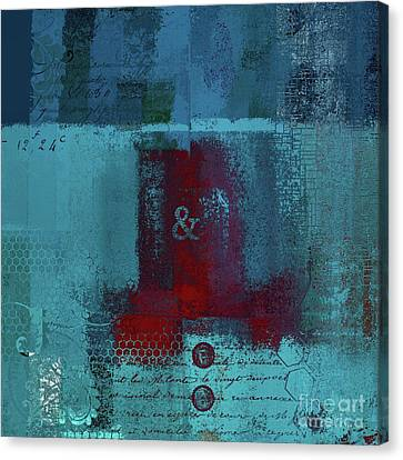 Canvas Print featuring the digital art Classico - S03b by Variance Collections