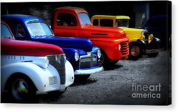Classics Canvas Print by Perry Webster