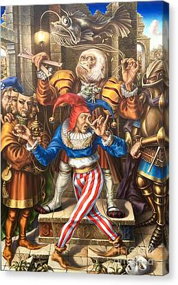 Classified Stupidity Canvas Print by Alexander Donskoi