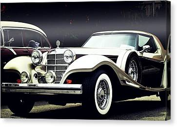 Canvas Print featuring the photograph Classy... by Al Fritz