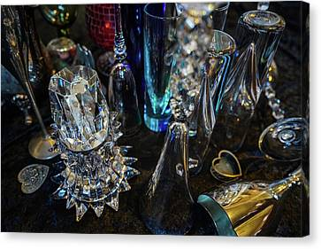 Classy Glass Canvas Print by Kenneth James