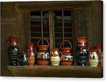Clay Jugs  Canvas Print