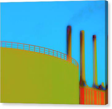 Clean Pipes Canvas Print by Jan W Faul