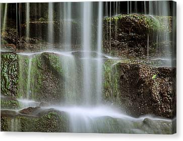 Waterfalls Canvas Print - Cleanse Me by Az Jackson