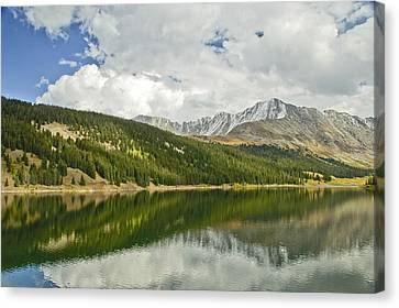 Clear Creek Reservior. Co Canvas Print by James Steele