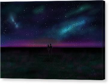 Clear Skies Canvas Print by John Ridley