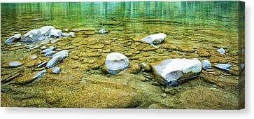 Clear Water Canvas Print by Svetlana Sewell
