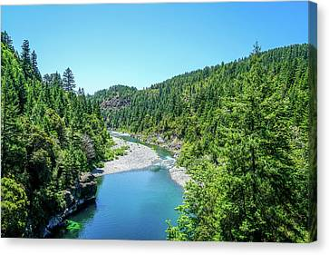 Clear Waters Canvas Print by Ric Schafer
