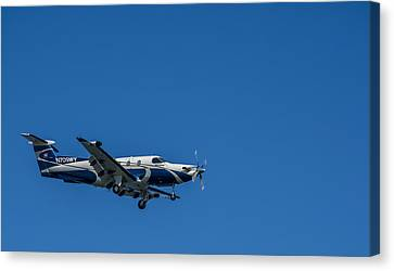 Cleared To Land Canvas Print by Marvin Spates
