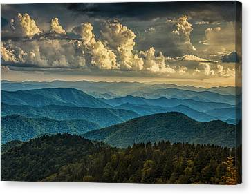 Twilight Views Canvas Print - Clearing Storm Clouds by Andrew Soundarajan