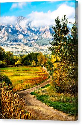 Clearly Colorado Canvas Print by Marilyn Hunt