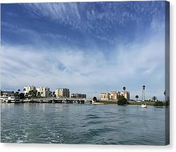 Clearwater Florida Canvas Print by Aimee L Maher Photography and Art Visit ALMGallerydotcom