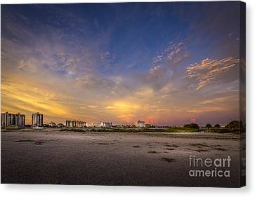 Miami Canvas Print - Clearwater Intercoastal by Marvin Spates