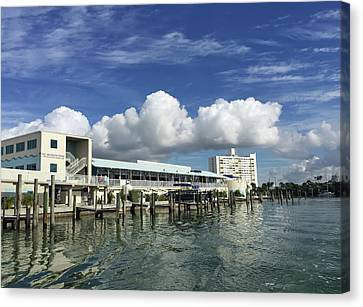 Clearwater Marine Aquarium Seaside Canvas Print by Aimee L Maher Photography and Art Visit ALMGallerydotcom
