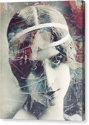 Manipulation Canvas Print - Cleo De Merode by Paul Lovering