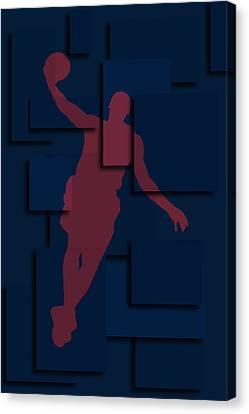 Cleveland Cavaliers Lebron James 2 Canvas Print