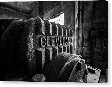 Cleveland Canvas Print by CJ Schmit