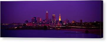 Cleveland Oh Canvas Print by Panoramic Images
