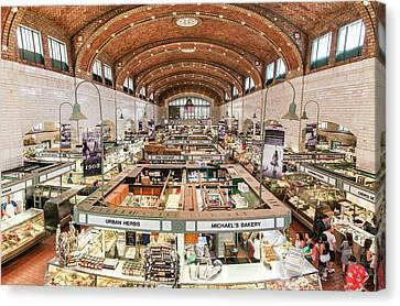 Cleveland Westside Market  Canvas Print